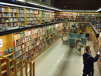 Roihuvuoren Kirjasto